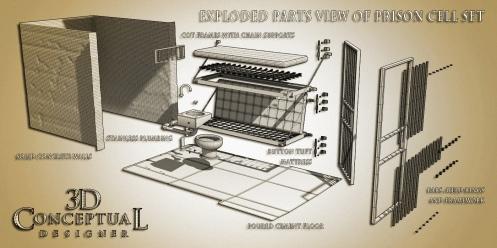 Conceptual Designers Cell Asset Set